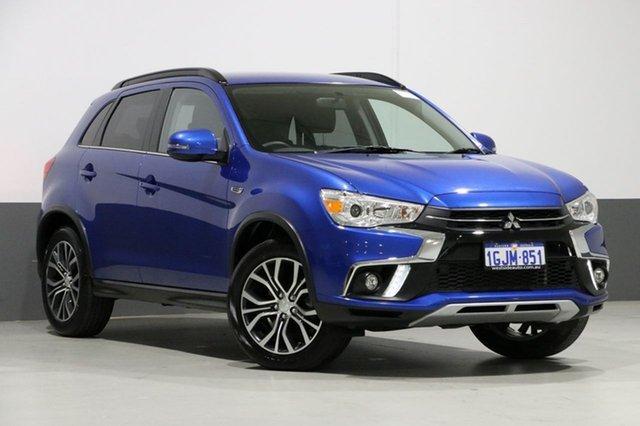 Used Mitsubishi ASX XC MY17 LS (2WD), 2017 Mitsubishi ASX XC MY17 LS (2WD) Blue Continuous Variable Wagon