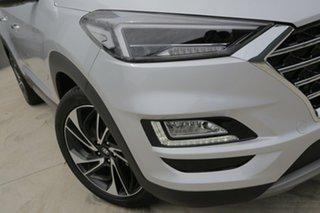 2018 Hyundai Tucson TL3 MY19 Highlander AWD Platinum Silver 8 Speed Sports Automatic Wagon.