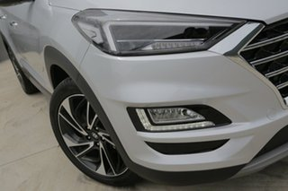 2018 Hyundai Tucson Highlander Platinum Silver 8 Speed Automatic SUV.