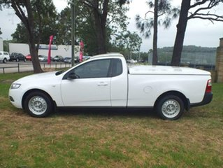 2013 Ford Falcon FG MkII Ute Super Cab White 6 Speed Sports Automatic Utility