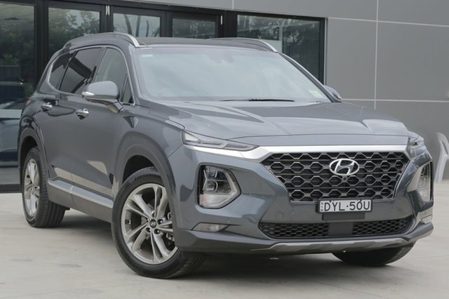 Demo Hyundai Santa Fe TM MY19 Highlander, 2018 Hyundai Santa Fe TM MY19 Highlander Rain Forest 8 Speed Sports Automatic Wagon