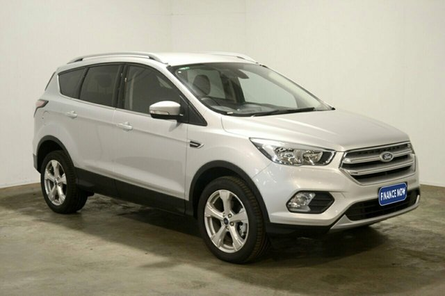 Used Ford Escape ZG Trend 2WD, 2017 Ford Escape ZG Trend 2WD Moondust Silver 6 Speed Sports Automatic Wagon