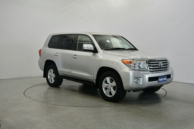 Used Toyota Landcruiser VDJ200R MY12 Sahara, 2013 Toyota Landcruiser VDJ200R MY12 Sahara Silver 6 Speed Sports Automatic Wagon