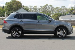 2018 Volkswagen Tiguan 5N MY18 162TSI Highline DSG 4MOTION Allspace Platinum Grey 7 Speed.