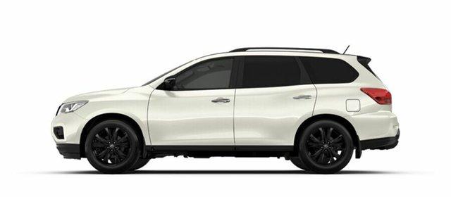 Demo Nissan Pathfinder R52 Series II MY17 ST-L X-tronic 2WD N-SPORT, 2018 Nissan Pathfinder R52 Series II MY17 ST-L X-tronic 2WD N-SPORT Ivory Pearl 1 Speed