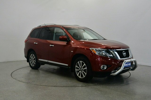 Used Nissan Pathfinder R52 MY14 ST-L X-tronic 4WD, 2013 Nissan Pathfinder R52 MY14 ST-L X-tronic 4WD Red 1 Speed Constant Variable Wagon