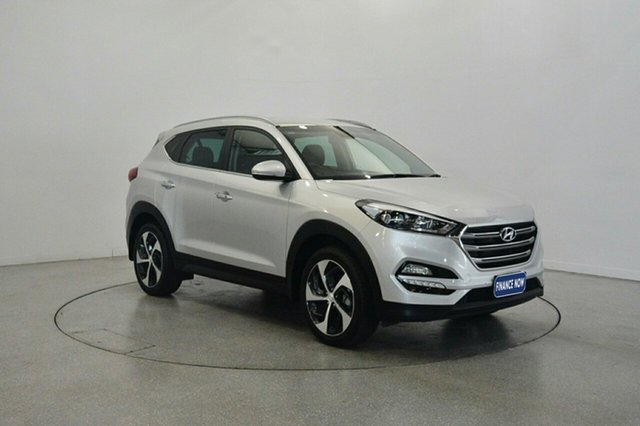 Used Hyundai Tucson TLe MY17 Elite 2WD, 2017 Hyundai Tucson TLe MY17 Elite 2WD Platinum Silver 6 Speed Sports Automatic Wagon