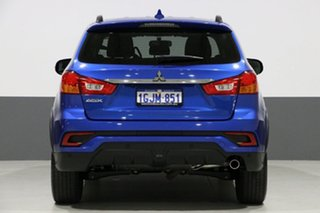 2017 Mitsubishi ASX XC MY17 LS (2WD) Blue Continuous Variable Wagon