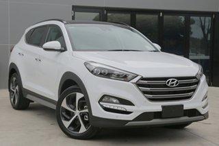 2018 Hyundai Tucson Highlander Polar White 6 Speed Automatic Wagon.