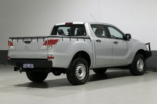 2011 Mazda BT-50 XT (4x4) Silver 6 Speed Manual Dual Cab Chassis
