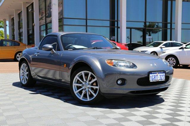 Used Mazda MX-5 NC30F1 MY07 Roadster Coupe, 2007 Mazda MX-5 NC30F1 MY07 Roadster Coupe Grey 6 Speed Sports Automatic Hardtop