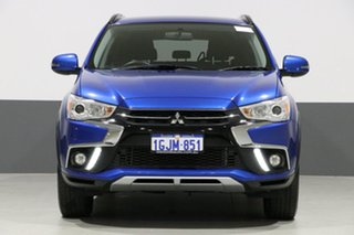2017 Mitsubishi ASX XC MY17 LS (2WD) Blue Continuous Variable Wagon.