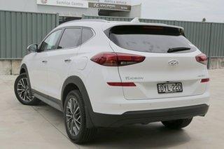 2018 Hyundai Tucson TL3 MY19 Elite AWD Pure White 8 Speed Sports Automatic Wagon.