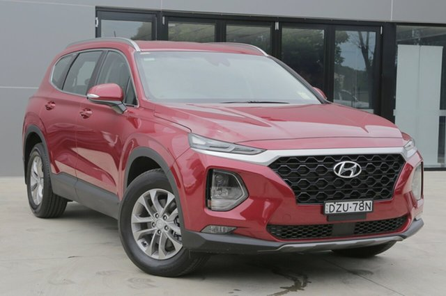 Demo Hyundai Santa Fe TM MY19 Active, 2018 Hyundai Santa Fe TM MY19 Active Horizon Red 8 Speed Sports Automatic Wagon