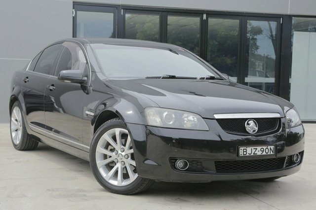 Used Holden Calais VE MY09.5 V, 2009 Holden Calais VE MY09.5 V Black 5 Speed Sports Automatic Sedan