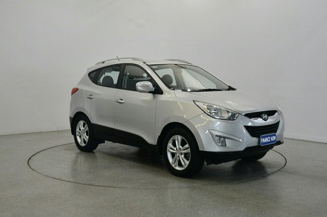 Used Hyundai ix35 LM MY11 Elite AWD, 2011 Hyundai ix35 LM MY11 Elite AWD Sleek Silver 6 Speed Sports Automatic Wagon