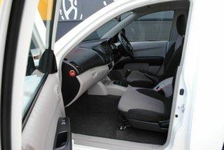 2010 Mitsubishi Triton MN MY11 GLX 4x2 Summit White 5 Speed Manual Cab Chassis