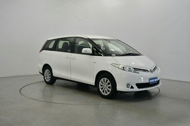Used Toyota Tarago ACR50R MY13 GLi, 2014 Toyota Tarago ACR50R MY13 GLi White 7 Speed Constant Variable Wagon