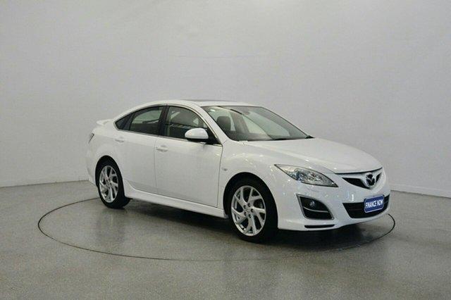 Used Mazda 6 GH1052 MY12 Luxury Sports, 2012 Mazda 6 GH1052 MY12 Luxury Sports White 5 Speed Sports Automatic Hatchback