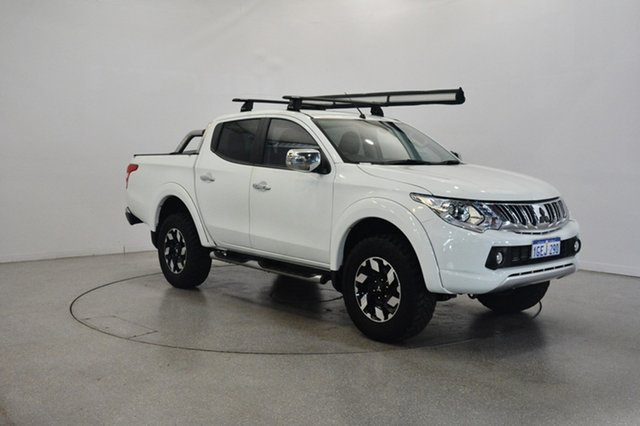 Used Mitsubishi Triton MQ MY17 Exceed Double Cab, 2016 Mitsubishi Triton MQ MY17 Exceed Double Cab White 5 Speed Sports Automatic Utility