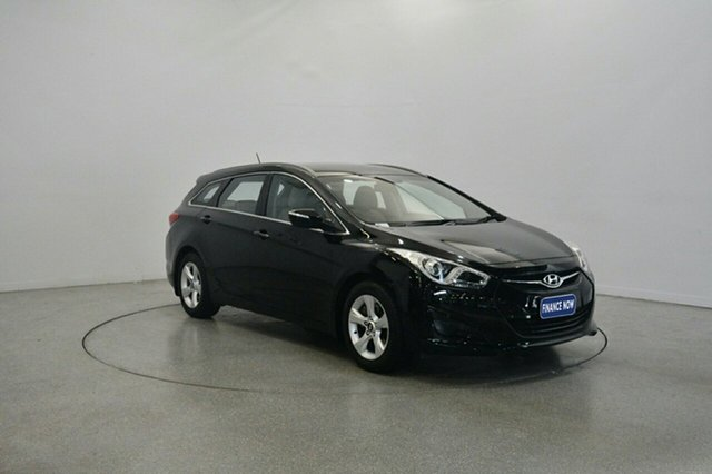 Used Hyundai i40 VF Active Tourer, 2011 Hyundai i40 VF Active Tourer Black 6 Speed Sports Automatic Wagon