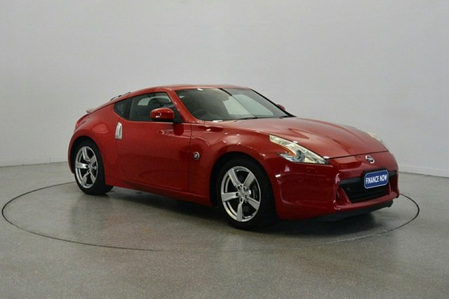Used Nissan 370Z Z34 , 2009 Nissan 370Z Z34 Red 7 Speed Sports Automatic Coupe