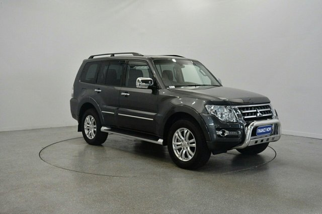 Used Mitsubishi Pajero NX MY15 Exceed, 2015 Mitsubishi Pajero NX MY15 Exceed Grey 5 Speed Sports Automatic Wagon