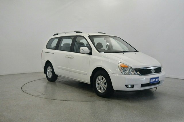 Used Kia Grand Carnival VQ MY11 SI, 2011 Kia Grand Carnival VQ MY11 SI White 6 Speed Sports Automatic Wagon