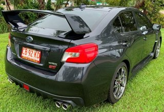 2015 Subaru WRX V1 MY16 STI AWD Premium Grey 6 Speed Manual Sedan.