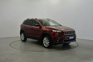 2015 Jeep Cherokee KL MY15 Limited Deep Cherry Red 9 Speed Sports Automatic Wagon.
