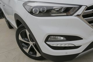 2018 Hyundai Tucson TLE2 MY18 Highlander AWD Polar White 6 Speed Sports Automatic Wagon.
