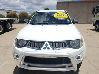2012 Mitsubishi Triton MN MY12 GLX Double Cab White 4 Speed Automatic Utility
