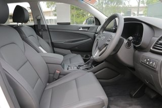 2018 Hyundai Tucson TL3 MY19 Elite AWD Pure White 8 Speed Sports Automatic Wagon