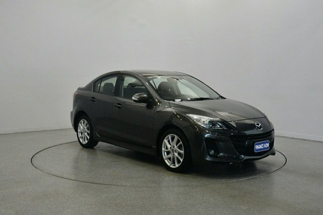Used Mazda 3 BL10L2 MY13 SP25 Activematic, 2013 Mazda 3 BL10L2 MY13 SP25 Activematic Grey 5 Speed Sports Automatic Sedan