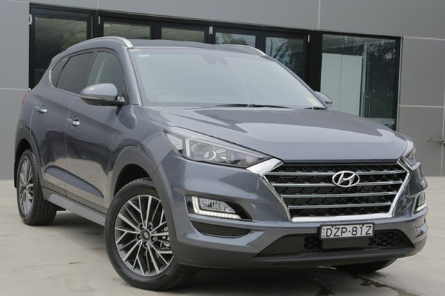 Demo Hyundai Tucson  Elite, 2018 Hyundai Tucson Elite Pepper Gray 8 Speed Automatic SUV
