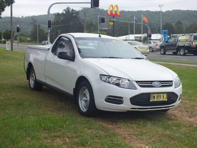 Used Ford Falcon FG MkII Ute Super Cab, 2013 Ford Falcon FG MkII Ute Super Cab White 6 Speed Sports Automatic Utility