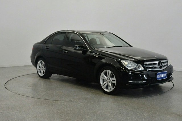 Used Mercedes-Benz C200 W204 MY13 7G-Tronic +, 2013 Mercedes-Benz C200 W204 MY13 7G-Tronic + Black 7 Speed Sports Automatic Sedan