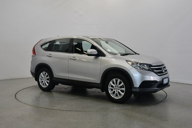 Used Honda CR-V RM MY14 VTi, 2013 Honda CR-V RM MY14 VTi Silver 5 Speed Automatic Wagon
