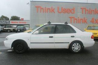 2000 Toyota Corolla AE112R Ascent White 5 Speed Manual Sedan