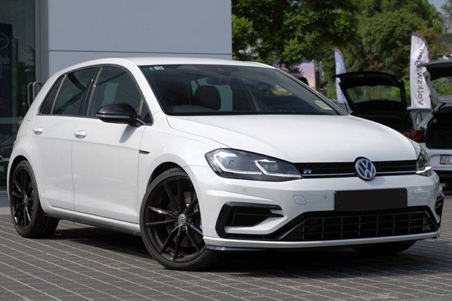 New Volkswagen Golf 7.5 MY19 R DSG 4MOTION Special Edition, 2018 Volkswagen Golf 7.5 MY19 R DSG 4MOTION Special Edition Pure White 7 Speed
