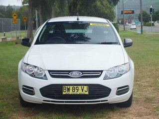 2013 Ford Falcon FG MkII Ute Super Cab White 6 Speed Sports Automatic Utility.