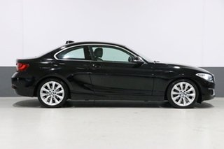 2016 BMW 220i F22 MY16 Luxury Line Black 6 Speed Manual Coupe