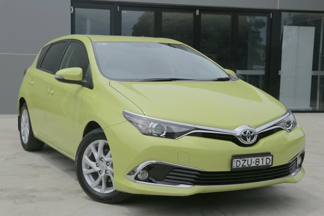 Used Toyota Corolla  Ascent Sport, 2017 Toyota Corolla Ascent Sport Ascent Sport Yellow Constant Variable Hatchback