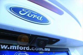 2017 Ford Focus LZ Titanium Frozen White 6 Speed Automatic Sedan.