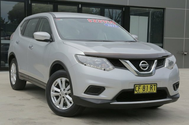 Used Nissan X-Trail ST ST, 2015 Nissan X-Trail ST ST Silver Constant Variable Wagon