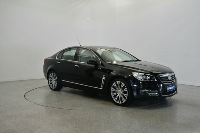 Used Holden Calais VF MY15 V, 2015 Holden Calais VF MY15 V Black 6 Speed Sports Automatic Sedan