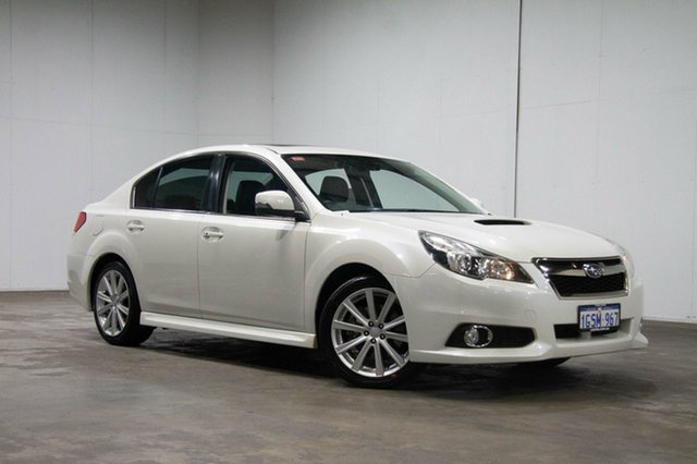 Used Subaru Liberty B5 MY14 GT AWD Premium, 2013 Subaru Liberty B5 MY14 GT AWD Premium White 5 Speed Sports Automatic Sedan