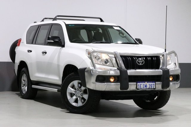 Used Toyota Landcruiser Prado KDJ150R 11 Upgrade GX (4x4), 2013 Toyota Landcruiser Prado KDJ150R 11 Upgrade GX (4x4) White 6 Speed Manual Wagon
