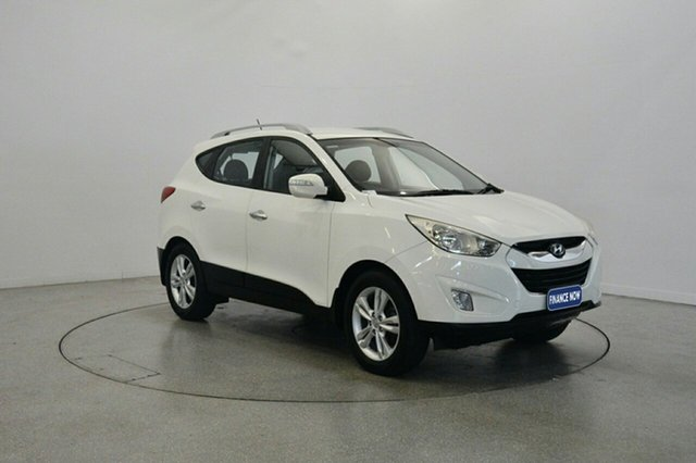 Used Hyundai ix35 LM MY12 Elite AWD, 2012 Hyundai ix35 LM MY12 Elite AWD Vanilla White 6 Speed Sports Automatic Wagon