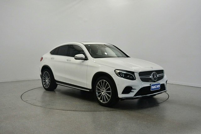 Used Mercedes-Benz GLC250 C253 Coupe 9G-TRONIC 4MATIC, 2016 Mercedes-Benz GLC250 C253 Coupe 9G-TRONIC 4MATIC White 9 Speed Sports Automatic Wagon